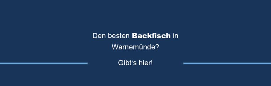 Fischhandel in Warnemünde und Rostock